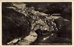 Postcard Günterstal Freiburg im Breisgau Baden Württemberg, Ort, Fliegeraufnahme