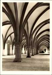 Postcard Eberbach im Rhein Neckar Kreis, ehemalige Zisteziensabtei, Mönchsdormitorium