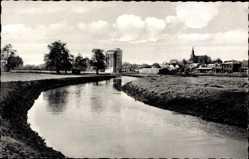 Postcard Kellinghusen in Mittelholstein, Blick über die Stör
