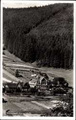 Postcard Manebach Ilmenau Thüringen, Blick auf das Hotel Conradshöh