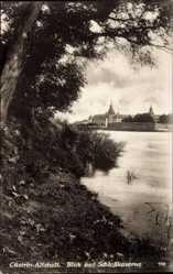 Ak Kostrzyn nad Odrą Cüstrin Ostbrandenburg, Blick auf Schlosskaserne