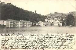 Postcard Bebek Konstantinopel Istanbul Türkei, Bosphorus, Wasserblick zum Ort