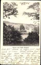 Postcard Hilchenbach im Kreis Siegen Wittgenstein Nordrhein Westfalen, Stift Keppel