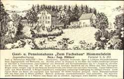 Künstler Ak Wernshausen Schmalkalden im Thüringer Wald, Gasthaus zum Fuchsbau