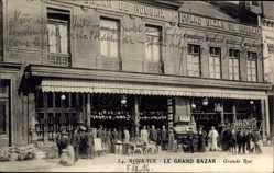 Ak Roubaix Nord, Le Grand Bazar, Grande Rue, Geschäft, Fassade