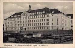 Postcard Olpe in Nordrhein Westfalen Sauerland, Oberlyzeum, St. Franziskusschule