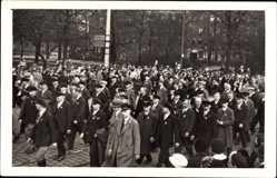 Foto Ak Chemnitz Sachsen, Festumzug zum Tag der Deutschen Arbeiter 1 Mai 1933