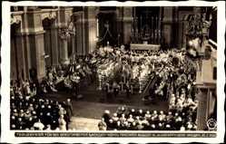 Ak König Friedrich August III. von Sachsen, Trauerfeier 23 02 1932, Hahn 9678