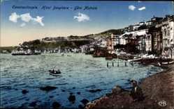 Postcard Konstantinopel Istanbul Türkei, Haut Bosphore, Yeni Mahale, Blick auf den Ort