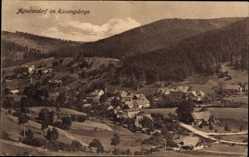 Postcard Jagniątków Agnetendorf Hirschberg Schlesien, Totalansicht, Ort