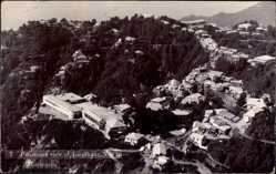 Foto Ak Mussoorie Masuri Indien, Panorama view of Landhaur