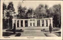 Ak Głuchołazy Bad Ziegenhals Schlesien, Kriegerdenkmal