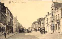 Postcard Roeselare Westflandern, Noordstraat, Straßenpartie