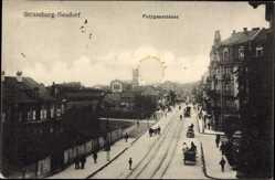 Postcard Strassburg Neudorf Elsaß Bas Rhin, Polygonstraße