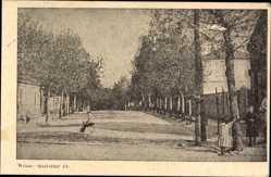 Postcard Vilnius Wilna Litauen, Gouverner Pr., Straßenpartie, Kinder