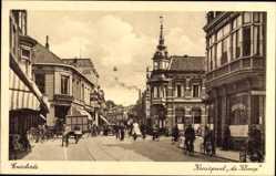 Postcard Enschede Overijssel Niederlande, Kruispunt de Klomp
