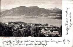 Postcard Tegernsee im Kreis Miesbach Oberbayern, Blick vom Westernhof