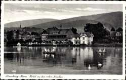 Postcard Ilsenburg am Nordharz, Hotel zu den roten Forellen