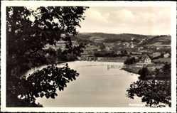 Postcard Ruhrberg Simmerath in der Eifel, Das Strandbad mit Umgebung