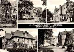 Postcard Ludwigslust in Mecklenburg Vorpommern, Stift Bethlehem, Feierabendheim