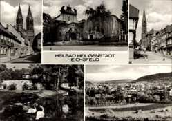 Postcard Heilbad Heiligenstadt in Thüringen, Stubenstraße, Redemptoristenkloster, Bad