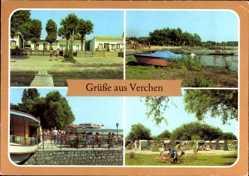 Postcard Verchen Mecklenburgische Seenplatte, Kummerower See, Gastst. Brandenburg