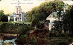 Postcard Keila Joa Estland, Eestimaa, Schloss, Villa, Grünanlagen