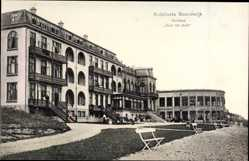 Postcard Noordwijk aan Zee Südholland, Kurhaus, Huis ter duin