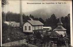 Postcard Saal Elsaß Bas Rhin, Wirtschaftsgebäude des Sanatoriums