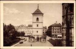 Postcard Košice Kassa Kaschau Slowakei, Urbanova vaza, Urbanturm, Urban torony