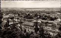 Postcard Homburg im Saarpfalz Kreis, Blick vom Karlsberg, Panorama, Kirche