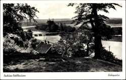 Postcard Dahlhausen Bochum im Ruhrgebiet Nordrhein Westfalen, Ruhrpartie