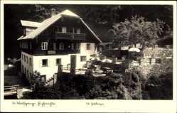 Postcard St. Wolfgang Oberösterreich, Blick auf die Hupfmühle, Restaurant