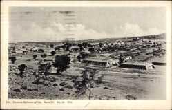 Postcard Där Namibia Deutsch Südwest Afrika, Panorama, Zeltlager, Siedlung