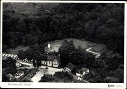 Postcard Weck Ittertal Solingen Nordrhein Westfalen, Märchenwald, Fliegeraufnahme