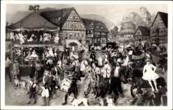 Postcard Sonneberg Thüringen, Spielzeugmuseum, Thüringer Kirmes, Weltausst. 1910