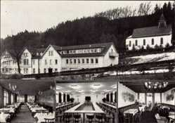 Postcard Oerlinghausen im Kreis Lippe, St. Hedwigs Haus, Heimvolkshochschule