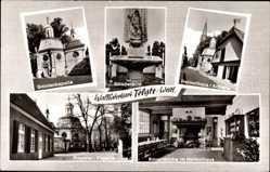 Postcard Telgte in Nordrhein Westfalen, Gnadenkapelle, Bauernküche, Probstei