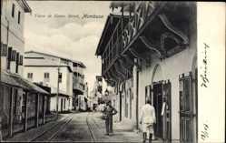Ak Mombasa Kenia, Vasco da Gama Street, General Depot, Einheimische