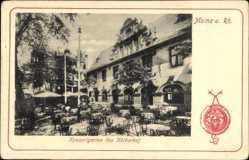 Postcard Mainz in Rheinland Pfalz, Konzertgarten des Kötherhof