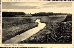 Postcard Eggebek Schleswig Holstein, Partie an der Treene