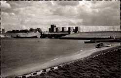 Postcard Dangast Varel am Jadebusen, Nordseebad, Dangaster Siel