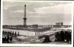 Postcard Berlin Charlottenburg, Ausstellungshallen am Funkturm