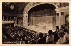 Ak Berlin Schöneberg, Variete Bühne in der Lutherstraße, Scala, Tanz