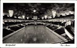 Ak Berlin, Blick in die Eis Arena im Sportpalast, Blick von der Tribüne