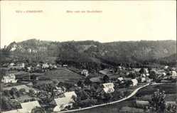 Postcard Jonsdorf in Sachsen, Blick nach der Gondelfahrt
