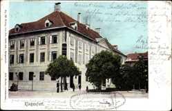 Postcard Klagenfurt am Wörthersee Kärnten Österreich, Postamt