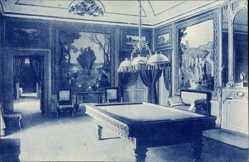 Ak El Pardo Madrid Stadt Spanien, Palacio Real, Salon de Billard, Aguirre