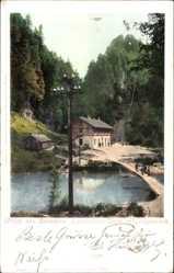 Postcard Dornbirn Vorarlberg Österreich, Elektrizitätswerk, Rappenloch