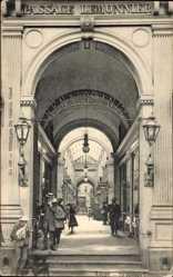 Postcard Liège Lüttich Wallonien, Le passage Lemonnier, Einkaufspassage, Renaissance